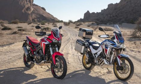 Honda, ecco la nuova Africa Twin 2020