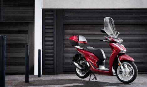 Eicma 2019, Honda rinnova lo scooter SH125i